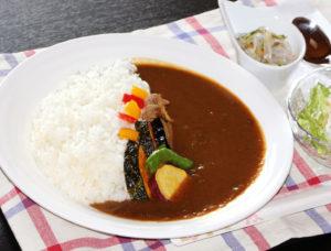 奈良県北僧坊矢田寺の美味しいカレー北僧坊(月てらす)のカレー